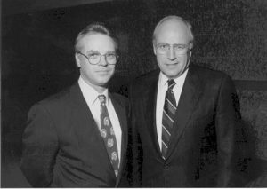 Dick Chaney and Jerry Ray Hall