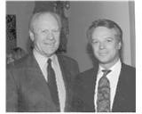 Jerry Ray Hall - President Gerald Ford in the Rockwall Herald Banner